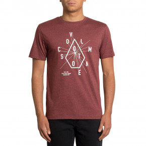 Go to the product T-shirt Volcom Eyechart crimson 2019