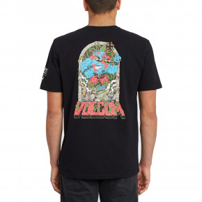 Go to the product T-shirt Volcom Freaks City black 2020