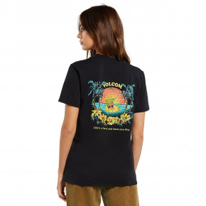Go to the product T-shirt Volcom Lock It Up black 2020
