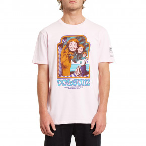 Go to the product T-shirt Volcom Max Loeffler snow pink 2020