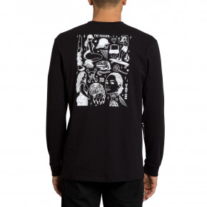 Go to the product T-shirt Volcom Mike Giant Ls black 2019
