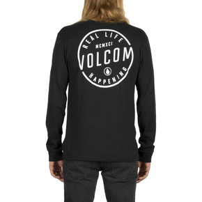 Go to the product T-shirt Volcom On Lock L/s black 2017