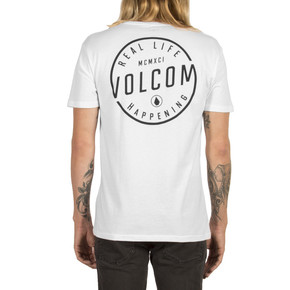 Go to the product T-shirt Volcom On Lock white 2017