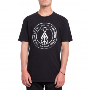 Go to the product T-shirt Volcom Peace Scissors Ltw black 2019