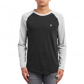 Go to the product T-shirt Volcom Pen Bsc L/s heather grey 2018