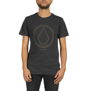 Go to the product T-shirt Volcom Pinline Stone heather black 2017