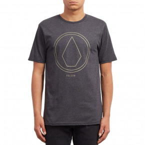 Go to the product T-shirt Volcom Pinline Stone heather black 2018