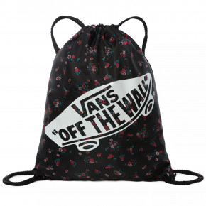 Go to the product Cinch bag Vans Benched Bag beauty floral black 2020