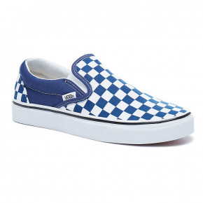 Przejść do produktu Tenisówki Vans Classic Slip-On chckrbrd estate blue/true white 2018