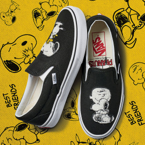 Przejść do produktu Tenisówki Vans Classic Slip-On peanuts best friends/true white 2017