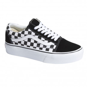 Go to the product Sneakers Vans Old Skool Platform checkerboard black/true white 2019