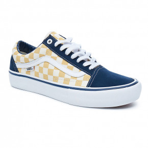 Go to the product Sneakers Vans Old Skool Pro checkerboard dress blues/ochre 2018
