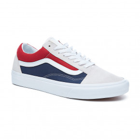 Go to the product Sneakers Vans Old Skool retro block white/red/dress blue 2018