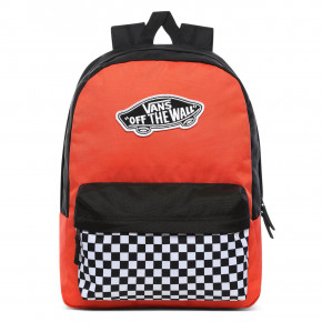 Go to the product Backpack Vans Realm paprika/checkerboard 2020