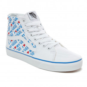 Go to the product Sneakers Vans Sk8-Hi i heart vans true white 2019