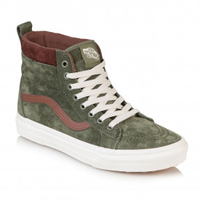 Go to the product Winter shoes Vans Sk8-Hi MTE deep lichen green/root beer 2019