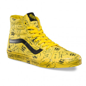 Go to the product Sneakers Vans Sk8-Hi Reissue peanuts charlie brown/maize 2017