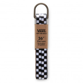 "Przejść do produktu Vans Vans Laces 36"" black white checkerboard"