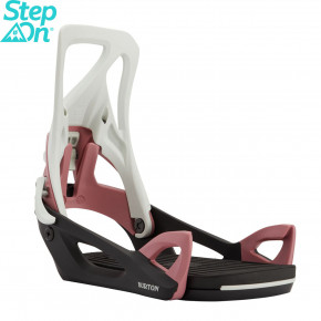 Go to the product Binding Burton Wms Step On grey/black/rose 2020/2021