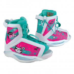 Go to the product Binding Ronix August Girls white/turquoise/pink 2019