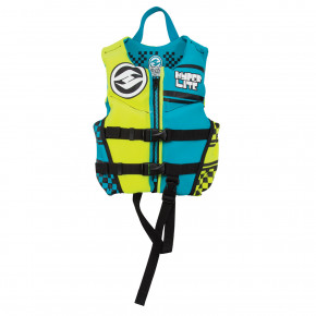 Go to the product Vest Hyperlite Boys Child Indy Neo teal/fluoro 2018