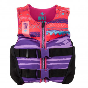Przejść do produktu Kamizelka Hyperlite Girls Youth Indy Cga purple/coral 2019