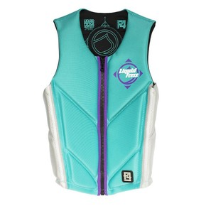 Go to the product Vest Liquid Force Happy Hour Comp aqua/silver 2016