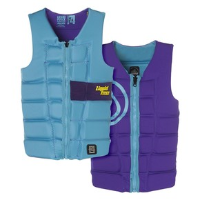 Go to the product Vest Liquid Force Melody Comp aqua/purple 2016