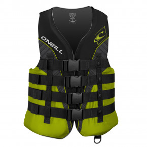 Go to the product Vest O'Neill Superlite ISO 50N Vest black/lime/smoke: lime 2020