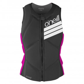 Przejść do produktu O'Neill Wms Slasher Comp Vest black/punk pink 2018