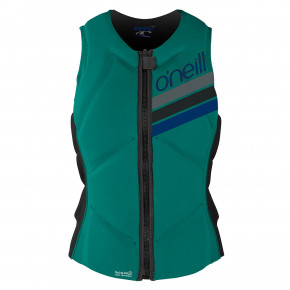 Go to the product Vest O'Neill Wms Slasher Comp Vest capri breeze/black 2018