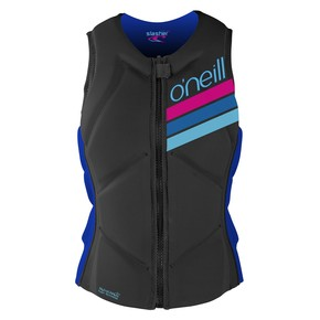 Go to the product Vest O'Neill Wms Slasher Comp Vest graphite/tahitian blue 2017
