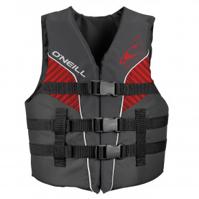 Przejść do produktu O'Neill Youth Superlite 50N Iso Vest smoke/graphite/red: white 2019