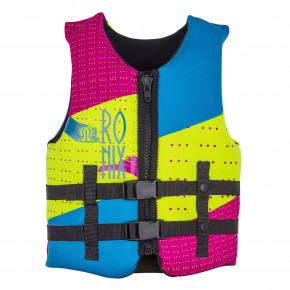 Go to the product Vest Ronix August Youth pink/highlighter 2018