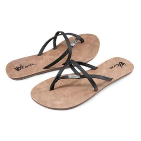 Go to the product Flip-Flops Volcom All Night Long black 2017