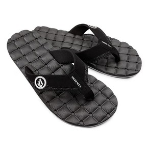 Go to the product Flip-Flops Volcom Recliner black/white 2017
