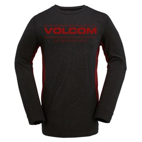 Przejść do produktu Koszulka Volcom Tds Base Layer Crew heather black 2016/2017