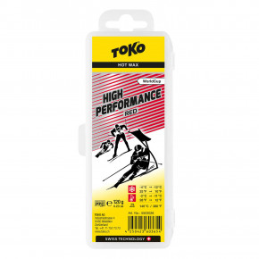 Go to the product wax Toko High Performance 120G red
