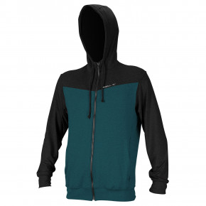 Go to the product O'Neill Hybrid L/s Full Zip Sun Hoodie teal/black 2019
