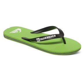 Go to the product Flip-Flops Quiksilver Molokai green/white/black 2017
