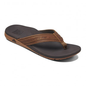 Go to the product Flip-Flops Reef Leather Ortho-Spring brown 2019