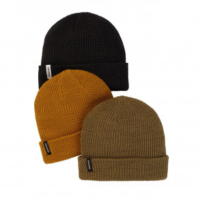 Go to the product Beanies Burton DND 3 PK true black/martini olive/wood th 2020/2021