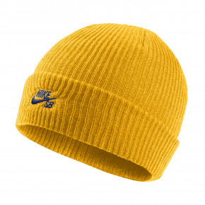 Go to the product Beanies Nike SB Fisherman yellow ochre/blue void 2018