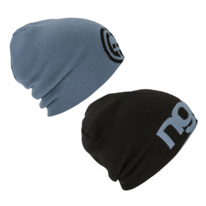Go to the product Beanies Nugget Logo 4 Reversible steel blue/black 2018/2019
