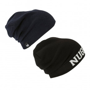 Go to the product Beanies Nugget Riot 2 Reversible black/navy 2018/2019