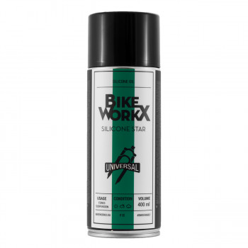 Bike Workx Silicone Star 400ml