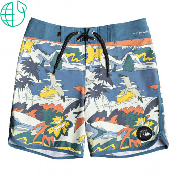 Boardshortky Quiksilver Highline Feelin Fine Youth 15