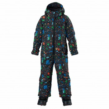 Kombinéza Burton Boys Minishred Striker One Piece
