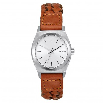 Hodinky Nixon Small Time Teller Leather