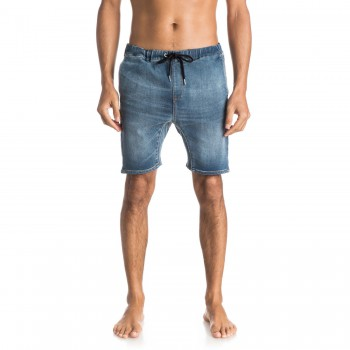Kraťasy Quiksilver Fonic Denim Fleece Short